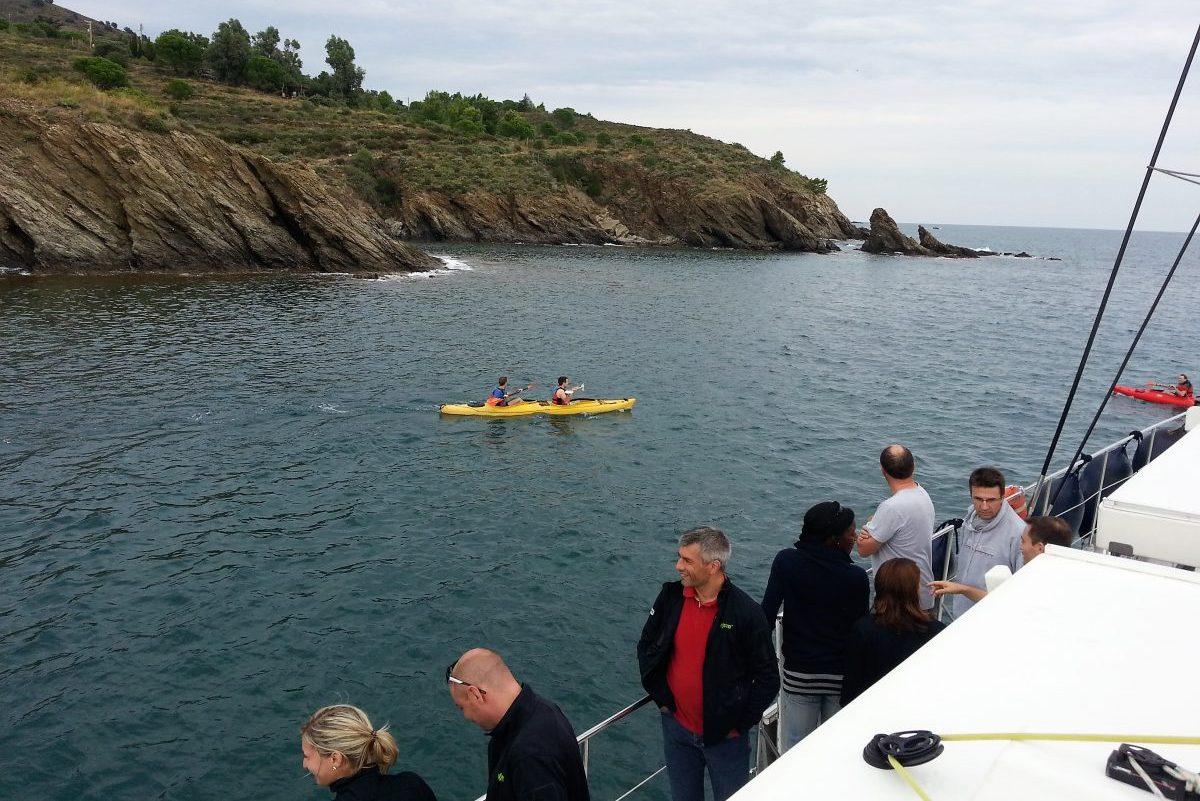catamaran navivoile groupes de particuliers et entreprises à canet en roussillon