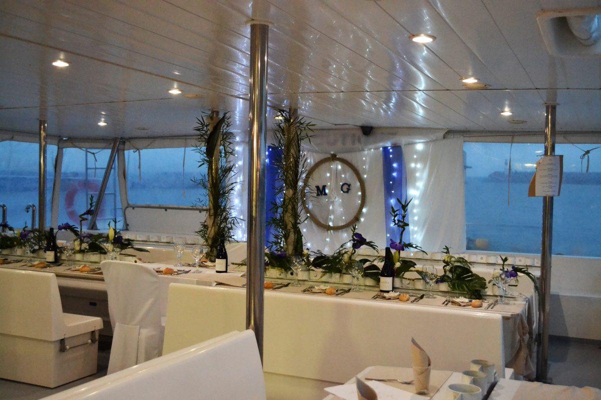 groupes de particuliers et entreprises catamaran navivoile mariage canet en roussillon