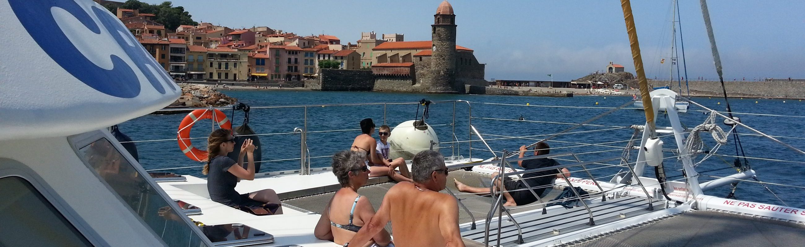 catamaran navivoile croisiere littoral au depart de canet en roussillon