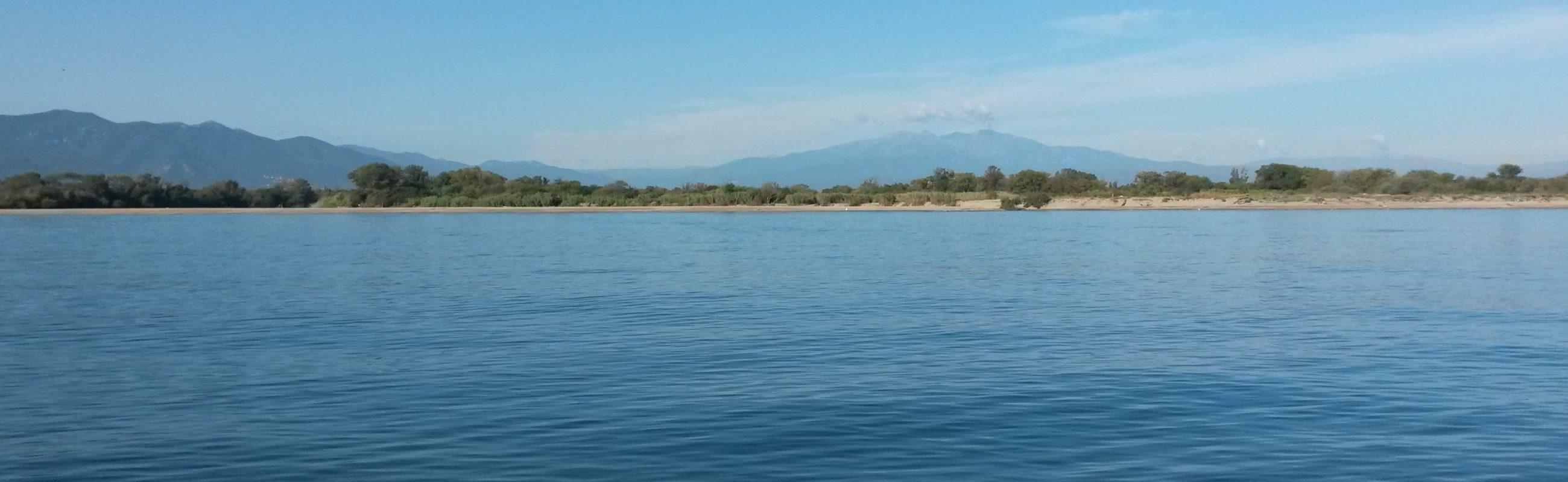 catamaran navivoile croisiere littoral au depart de port vendres