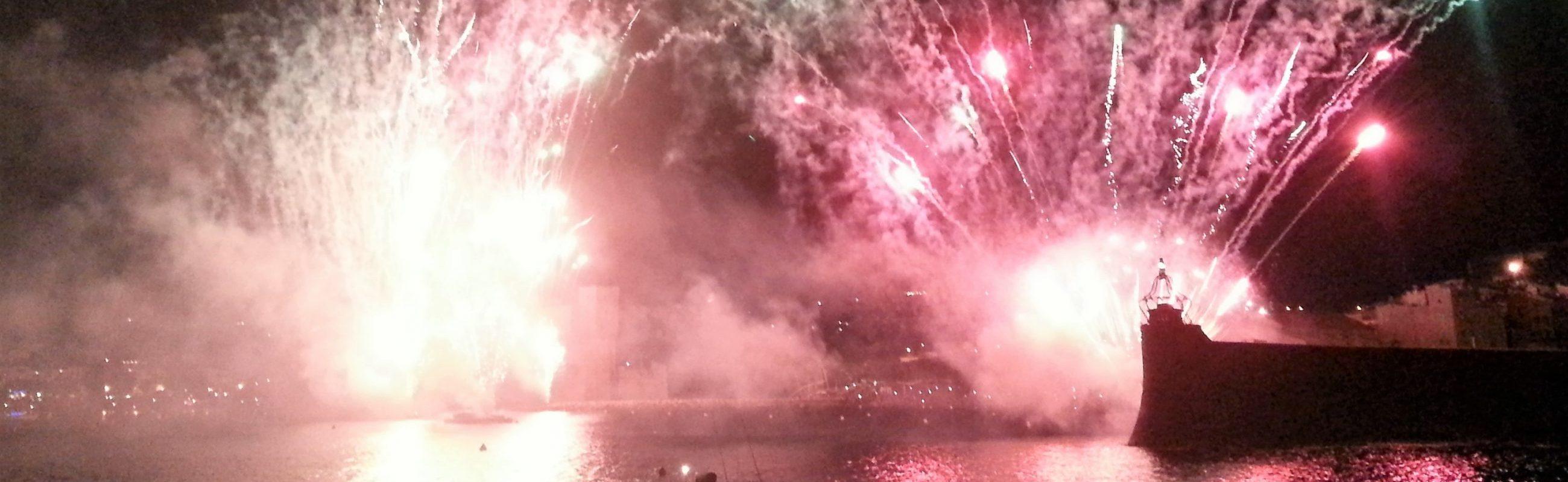 catamaran navivoile bon cadeau feu artifice de collioure du 16 août