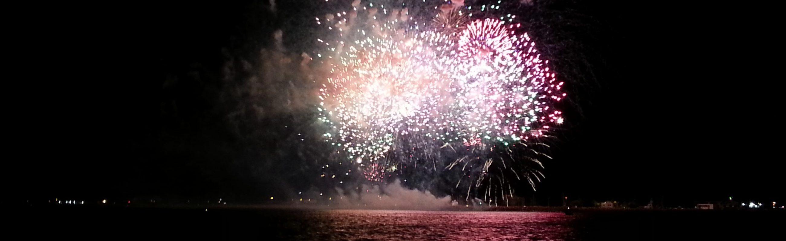 bon cadeau feu d artifice du 14 juillet de sainte la mer navivoile