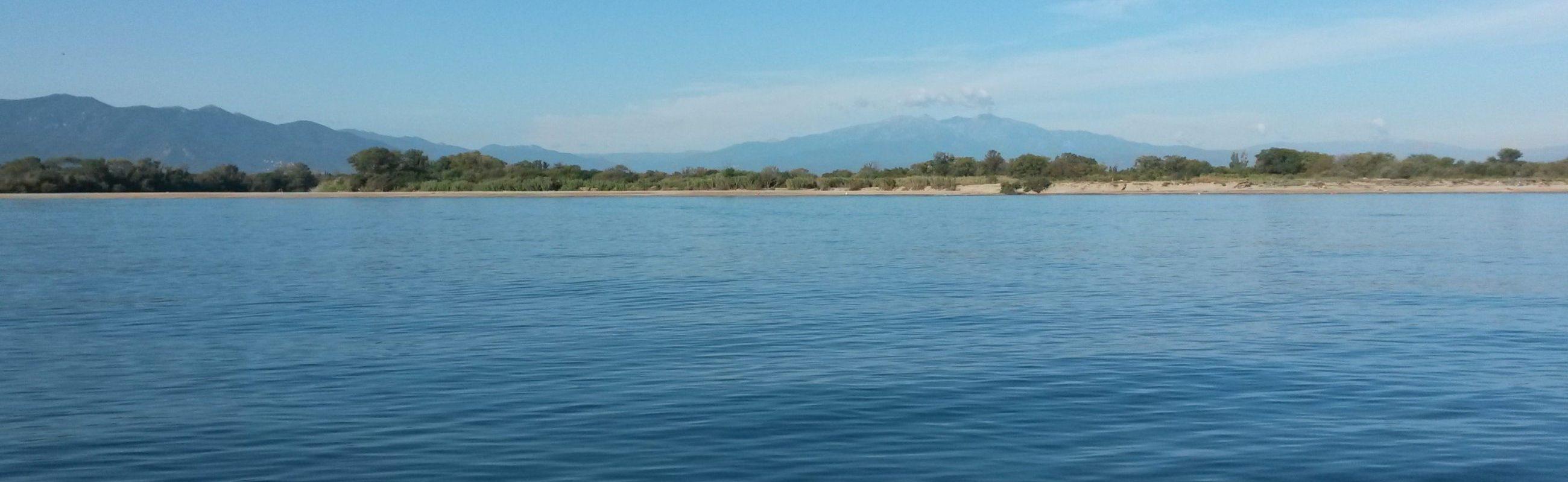 catamaran navivoile croisiere côte rocheruse au départ de canet en roussillon