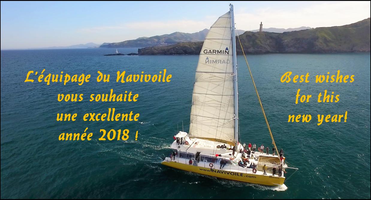 navivoile canet en roussillon voeux année 2018