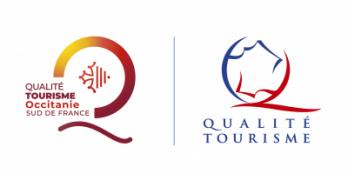 logo Qualité Tourisme Sud De France et Qualité tourisme catamaran navivoile