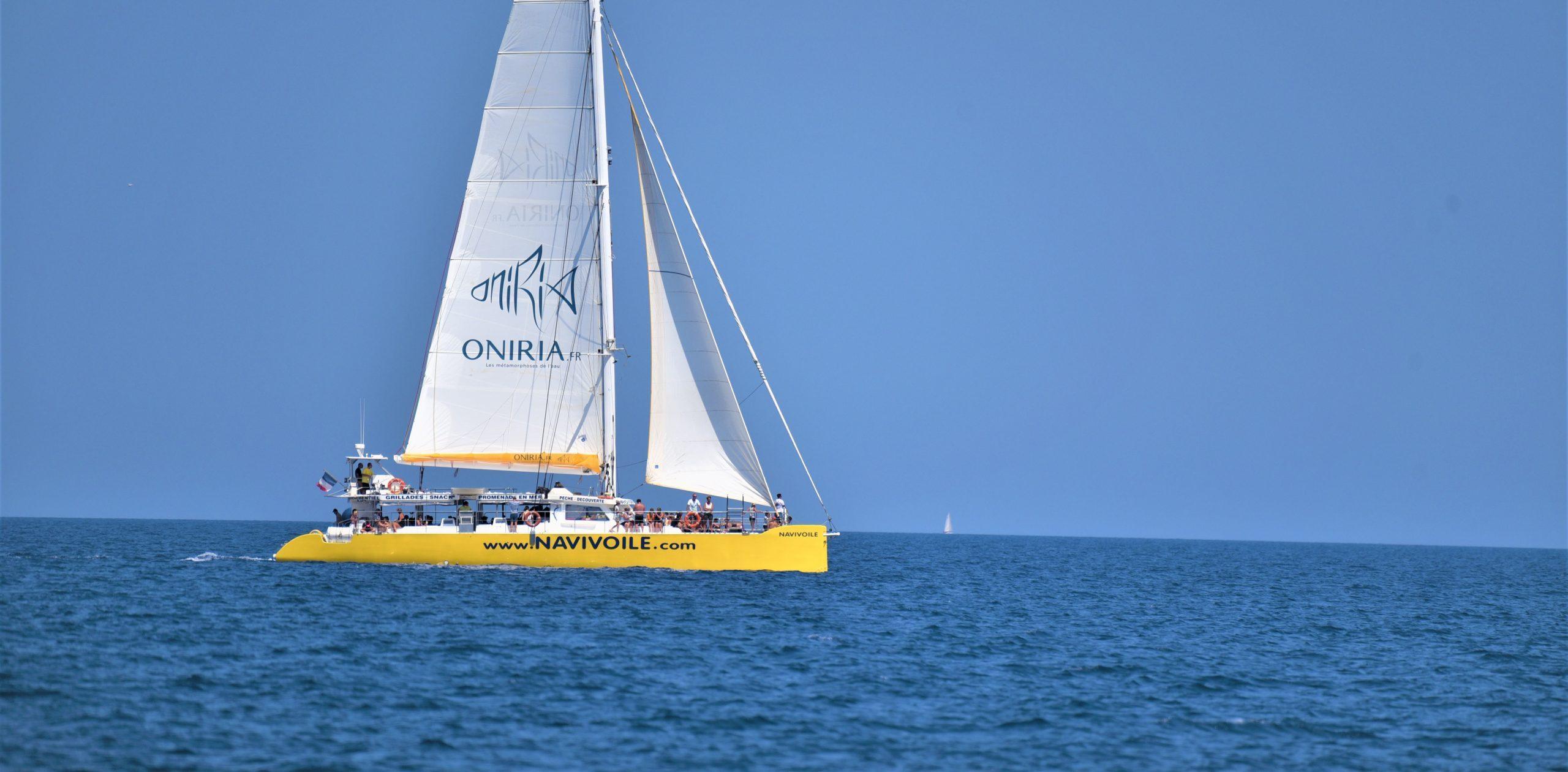 catamaran navivoile aquarium oniria canet en roussillon 66
